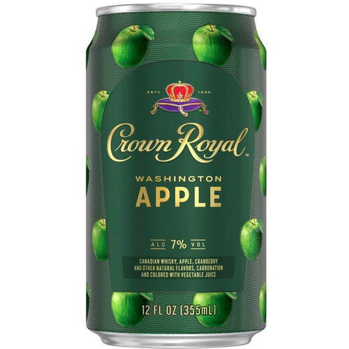 This ready-to-drink canned cocktail from Crown Royal is a delicious combination of Canadian Whisky, apple schnapps, and cranberry juice.
