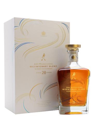 John Walker & Sons Bicentenary Blend Aged 28 Years Blended Scotch Whisky 750ml