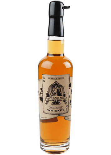 Dead Man's Hand Small Batch Whiskey is distilled in Whiskey River, Fairfield CA. A wonderful blend created for those that may or may not wear a black suit each day!