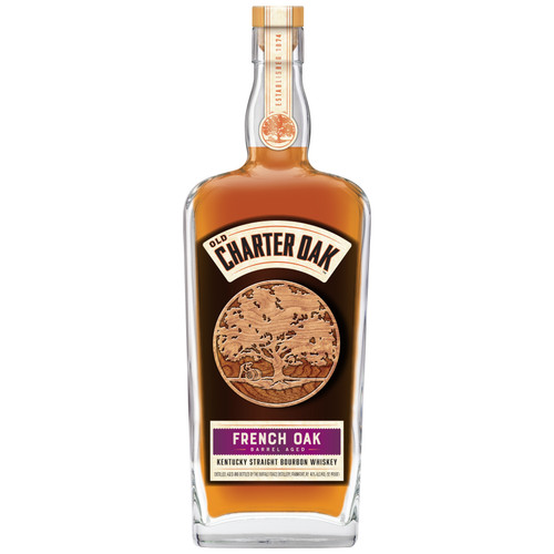Aged twelve years at Buffalo Trace Distillery, this bourbon is rich and sweet, drawing its character from barrels made of French Oak.