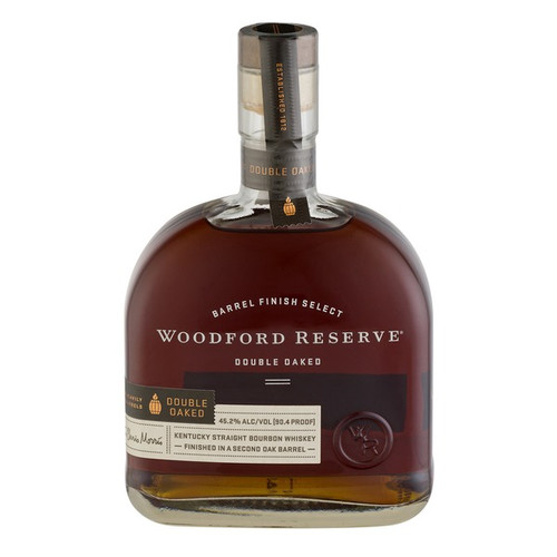 An innovative approach to twice-barreled bourbon creates the rich and colorful flavor of Woodford Reserve Double Oaked. Uniquely matured in separate, charred oak barrels – the second barrel deeply toasted before a light charring – extracts additional amounts of soft, sweet oak character.