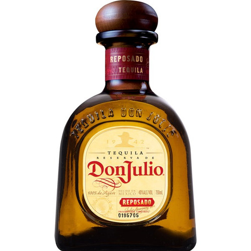 Aged for eight months in American white-oak barrels, Don Julio® Reposado Tequila is golden amber in color, and offers a rich, smooth finish—the very essence of the perfect barrel-aged tequila.
