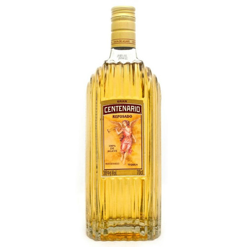 Gran Centenario Reposado is a Tequila of unparalleled smoothness and quality. It is distilled from carefully selected 10 year old blue agave plants and aged in new oak barrels to achieve the perfect balance of taste and smoothness.