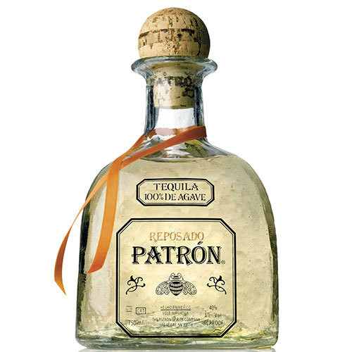 Aged in oak barrels for an average of six months. It is aged and blended to incorporate the fresh clean taste of Patron Silver with a hint of the oak flavor found in Patron Anejo. Patron Reposado is excellent as a sipping tequila or as a key ingredient in a favorite cocktail. It makes an excellent ultra premium margarita.