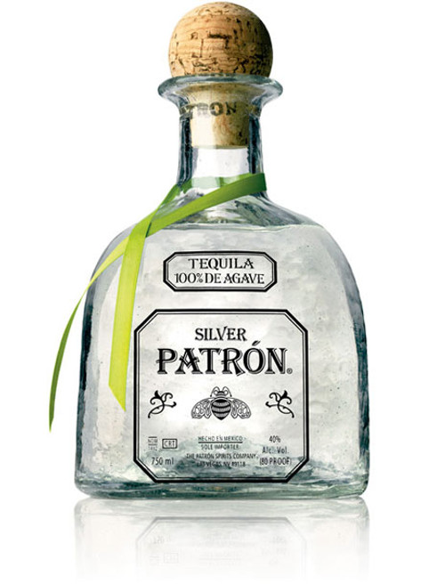 Patrón Silver tequila is the perfect ultra-premium white spirit. Using only the finest 100 percent Weber blue agave, it is handmade in small batches to be smooth, soft and easily mixable.
