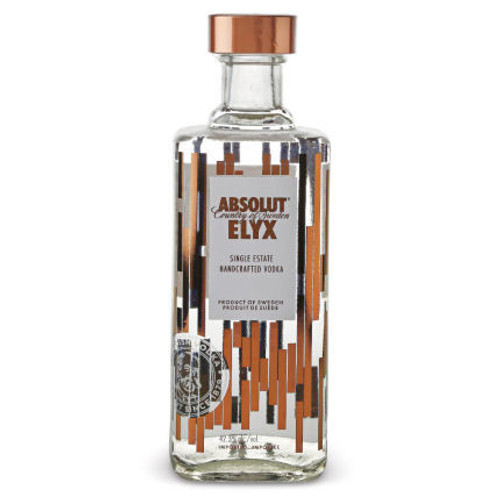 Absolut Elyx is a true luxury vodka, built on the principles of quality, integrity and craftsmanship, distilled in a manually operated vintage copper still from 1921. The result is an award winning vodka with a rich and smooth mouth feel. We call it liquid silk. Perfect for your martinis or even on the rocks.