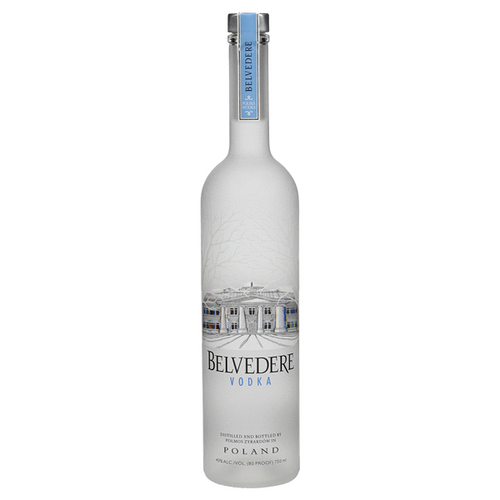 Belvedere Vodka is the first super-premium vodka, created from 600 years of Polish vodka-making tradition. Crafted using 100% Polska rye and water from its own natural well, Belvedere is all natural, contains zero additives or sugar, is certified Kosher, and is produced in accordance with the legal requirements of Polish Vodka. Its taste profile is structured, elegant and balanced, with a subtle sweetness, velvety rich mouthfeel and smooth, clean finish.
