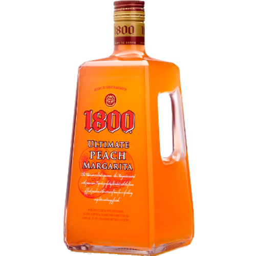 Created with 100% agave, 1800 Silver Tequila is perfectly blended with the flavor of fresh peaches for a refreshing crisp bite and tangy finish.