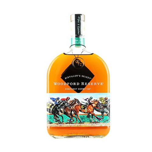 Honoring 20 years of inspiration, this bottle commemorates the 145th Kentucky Derby with a stunning, new original painting from Kentucky artist Keith Anderson. The artwork follows the thoroughbreds on their journey around the track, highlighting their power, grace, and elegance.