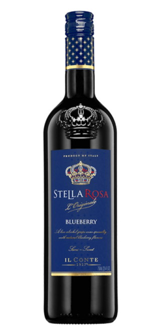 Our newest flavor, Stella Rosa®️ Blueberry is undeniably irresistible. Its sweet and succulent blueberry taste will elevate your mood and your wine-tasting expectations.