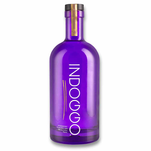 """Developed by the King of """"Gin & Juice,"""" Calvin """"Snoop Dogg"""" Broadus, INDOGGO is the ultimate remix of seven premium botanicals infused with all-natural strawberry flavor."""