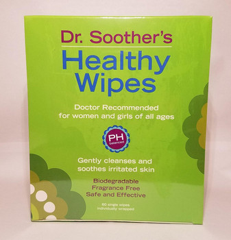 Dr. Soother's Healthy Wipes (60 Single Use Wipes)