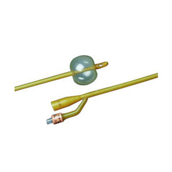2-Way Silicone-Elastomer Coated Foley Catheter 26 fr 30 cc (Sold by the Case of 12)