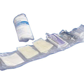BURRITO Dover Vinyl Closed Urethral Catheter Tray 14 fr 1000 mL (Sold by the Case of 20)