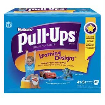 Pull-Ups Learning Designs Training Pants 4t-5t, Boy Big Pack Sold by Pack(age) of 40