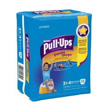 Pull-Ups Learning Designs Training Pants 3t-4t, Boy Jumbo Pack Sold by Case of 96