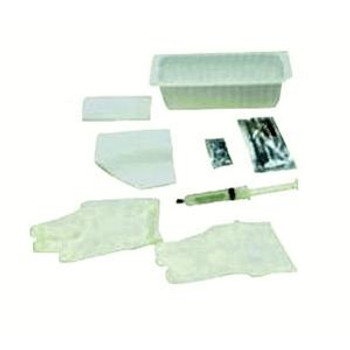 Catheter Insertion Tray with 10 cc Pre-Filled Syringe