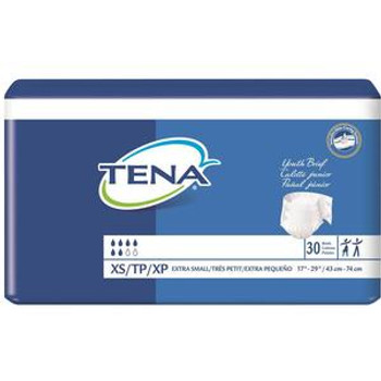 """Tena Youth Brief 17"""" - 29"""" Sold by Pack(age) of 30"""