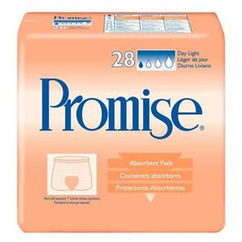 Promise Light Absorbency Day Pad Sold by Pack(age) of 28