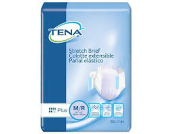 TENA Stretch Plus L/XL Sold by Pack(age) of 36