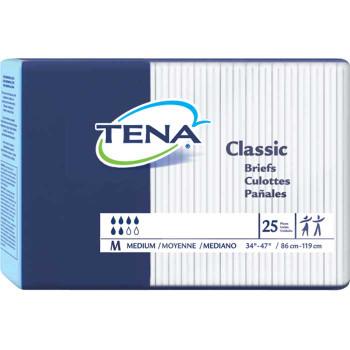 "TENA Classic Brief Medium 34"" - 47"" Sold by Case of 100"