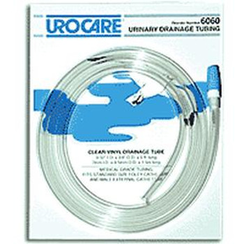 """Sterile Clear-Vinyl Extension Tubing with Adaptor and Cap 9/32"""" I.D. x 60"""""""