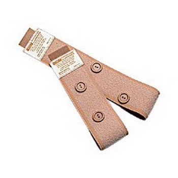 Fitz-All Fabric Leg Straps with Buttons Sold by Pack(age) of 1