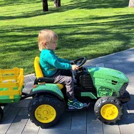 Kids Electric Tractors