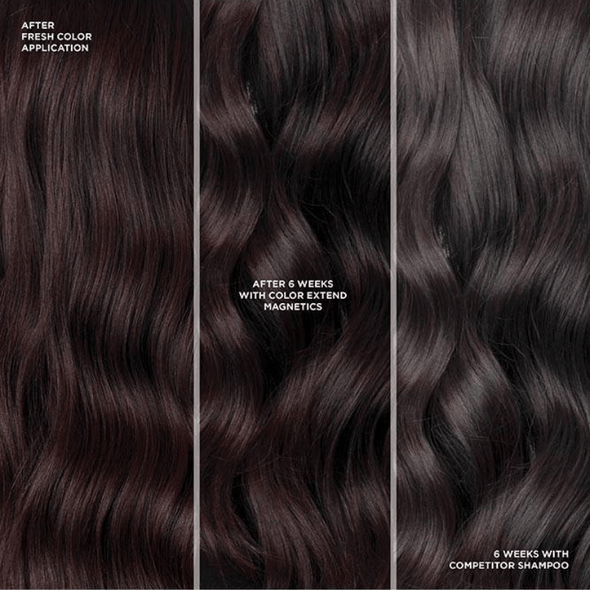Redken Colour Extend Magnetic MEGA Mask 250ml before and after