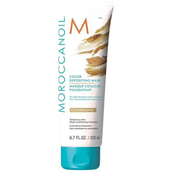 Moroccanoil Color Depositing Mask - Champagne 200 ml