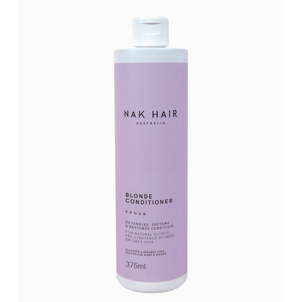 NAK Blonde Conditioner 375ml