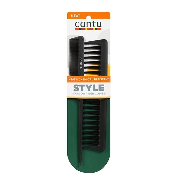 Cantu Carbon Fibre Comb Set x2
