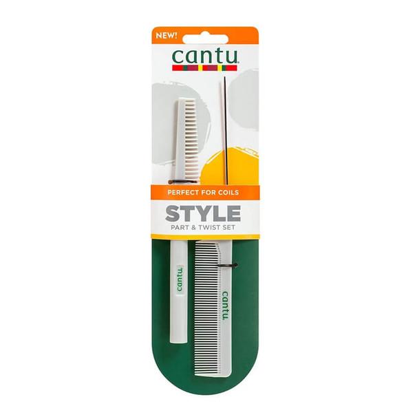 Cantu Styling Comb Set x2