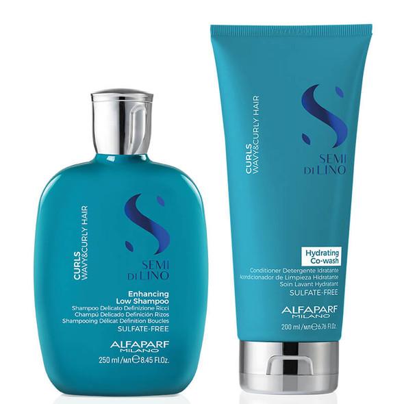 Alfaparf Curls Shampoo and Co Wash Bundle