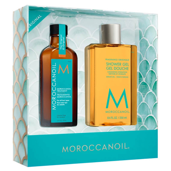 Moroccanoil Treatment 100ml with Moroccanoil Shower Gel