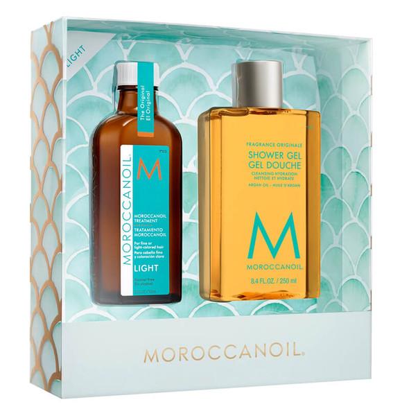 Moroccanoil Treatment Light 100ml with Moroccanoil Shower Gel