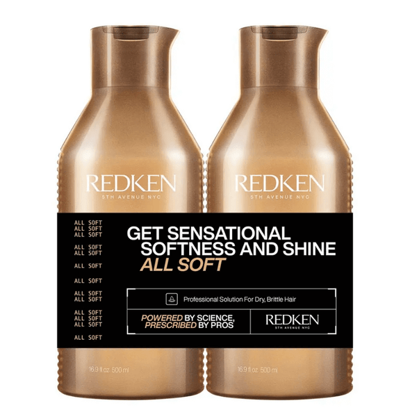 Redken All Soft 500ml Duo - Limited Edition