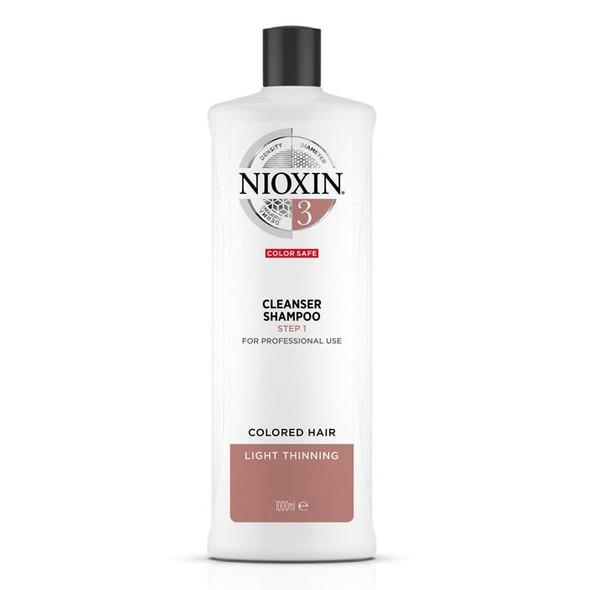 Nioxin Cleanser 3 1000ml (Shampoo)