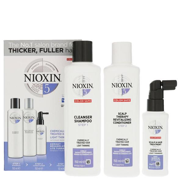 Nioxin - System Kit 5 (Normal to thin, medium to coarse) box