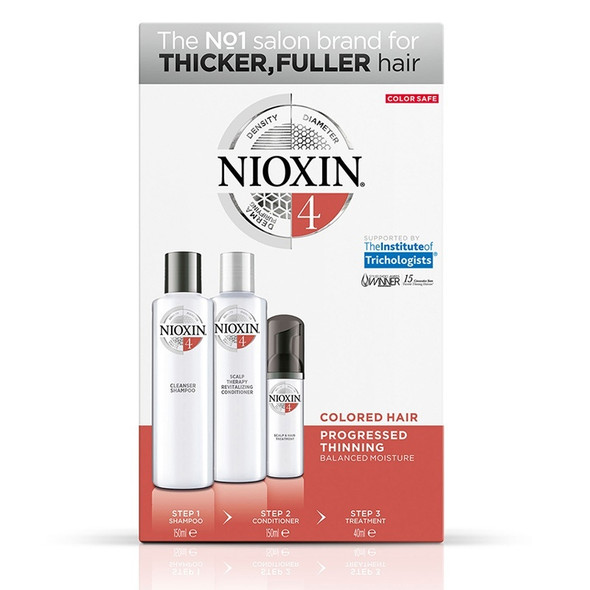 Nioxin System Kit 4 (Thinning, Fine, Treated)