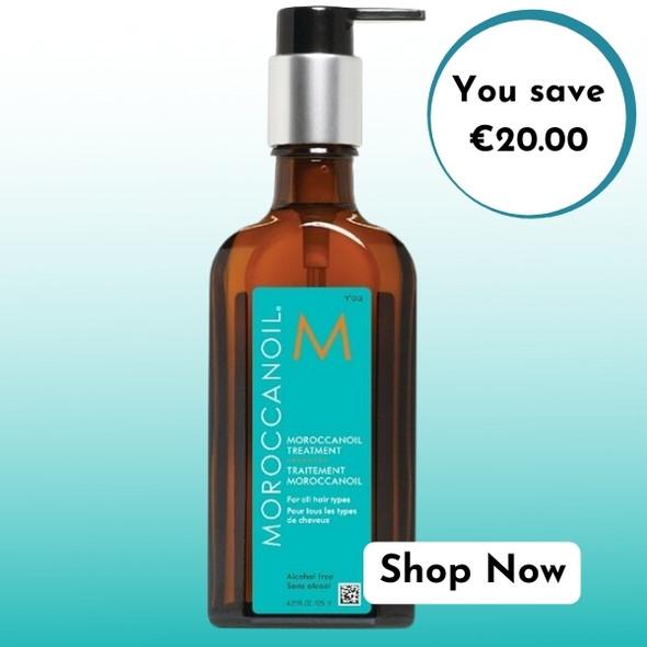 Moroccanoil Treatment Oil 125ml for the price of 100ml Sale