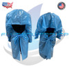 180 PCS DISPOSABLE ISOLATION GOWN POLYETHYLENE MATERIAL LATEX FREE   / MADE IN USA
