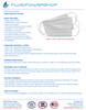 CLASS 1 SURGICAL MASKS SPECIFICATION SHEET pg 1
