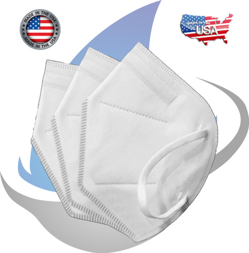 KN95 RESPIRATOR FACEMASK  - MADE IN THE USA