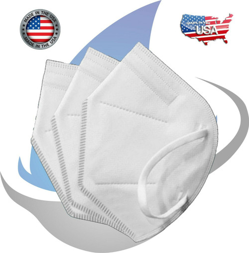 15PCS PERSONAL PACKAGE KN95 RESPIRATOR FACE MASK FACE MASKS - MADE IN THE USA!
