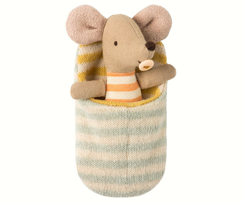 Mail- Baby Mouse in Sleeping Bag