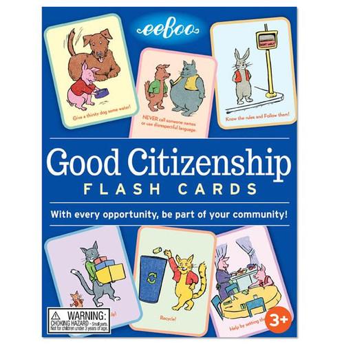 Good Citizen Flash Cards