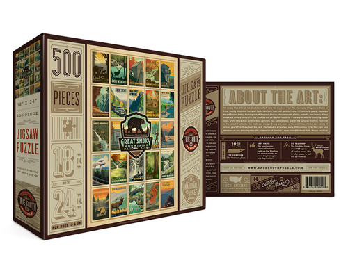 TSP- Great Smoky Mountains puzzle