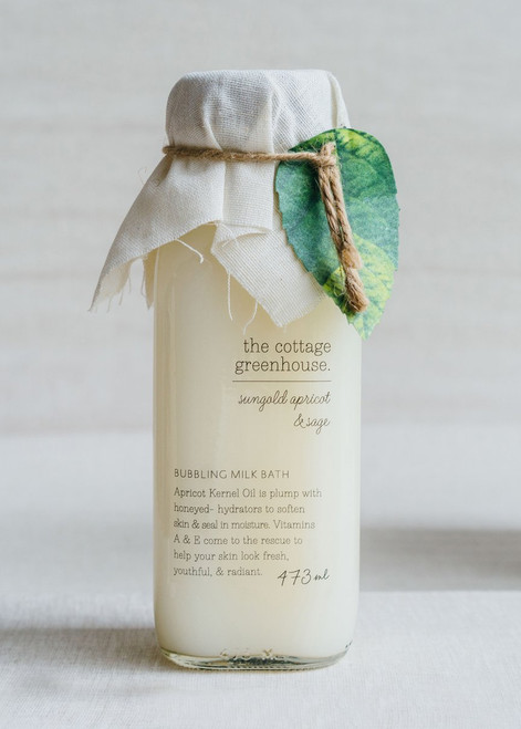 Sungold Apricot & Sage Bubbling Milk Bath