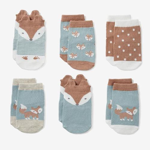 Fox Socks (6 pack)